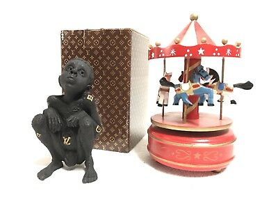 Louis Vuitton LV Collectable Child Black Statue Artist Beejoir 165/500