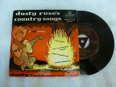 Dusty Rose Country Songs  Ep  Rare London Tri Re-U 1087 Purple / Gold Excellent