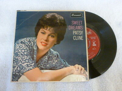 Patsy Cline Sweet Dreams Ep 1963 Brunswick Oe 9490 Excellent