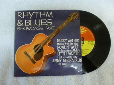 WATERS WOLF WALTER McCRACKLIN  R&B SHOWCASE VOLII EP 1961 RARE EXCELLENT