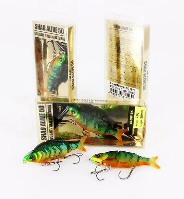 13 Section Jointed Eel Hairtail Fish Lure Hard Slow Sink Swimbait 9inch 46g