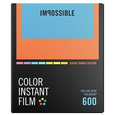 Impossible 600 Color Film COLOR FRAMES Edition - For Polaroid 600 Cameras