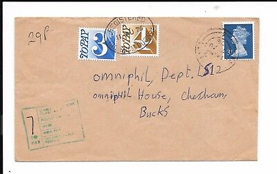 GB QEII 7d POSTAGE DUE COVER 1976