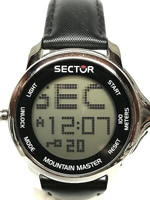 watch SECTOR Mountain Master DigiTouch 46mm Discounted New