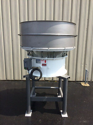 Vorti-Siv 48 Inch Single Deck S/S Vibratory Sifter, Sieve, Screener, Separator