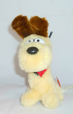 "Vintage Odie Garfield 80's Dakin Plush Collectible Dog 7 "" Tall"