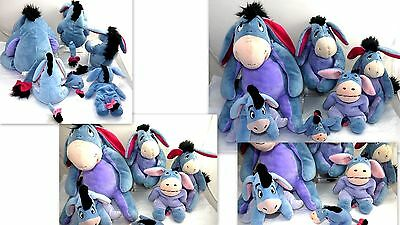 Eeyore Winnie Pooh Friend Disneyland Stuffed Animal Plush Toy Lot  #ee11