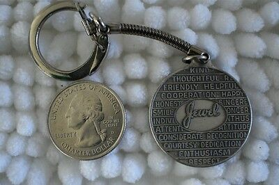 Jewel Grocery Store I Am Turnstyle Albertsons OSCO FOB TAG Keychain Key Ring