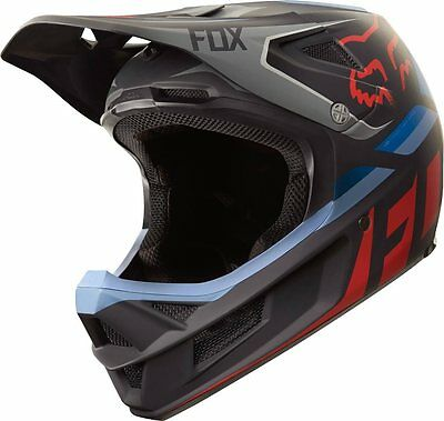 Casco Fox Mtb Rampage Pro Seca Black Grey Red Ultima Taglia L