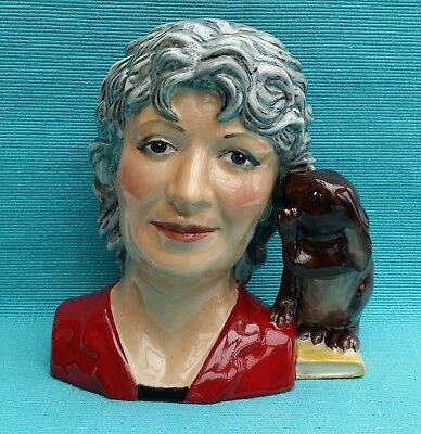 Rare Peggy Davies Louise Irvine Character Jug limited ed 350 No 69