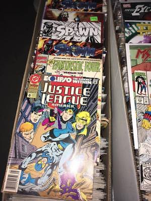 Huge Lot Medium Flat Rate Box Full of Comics. Free Shipping Marvel DC Indy