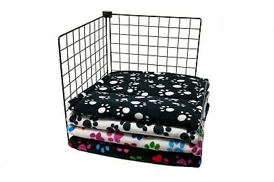 Guinea pig fleece cage liners for Ferpalst cage, double sided, zebra and cow