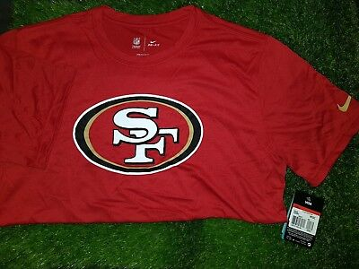 San Francisco 49Ers Nfl Onfield T Shirt Dri-Fit Size Large Bnwt