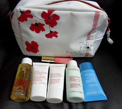 Clarins Gift Set  With zip bag ,fresh stock, Brand new xmas gift
