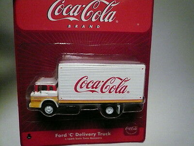 "Athearn ""N"" Coca-Cola Ford 'C' Delivery Box Van Truck 1:160 (2 PHOTOS)-FAST SHIP"