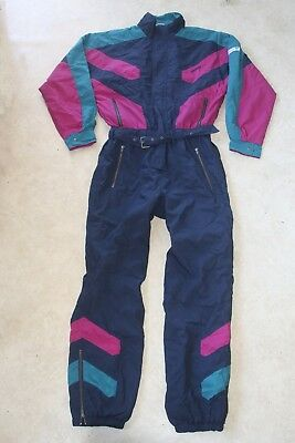 Vintage Adidas Ski Suit Overalls Made In Yugoslavia Size 52