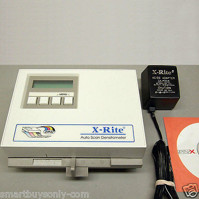 X-Rite DTP32R Auto Scan Densitometer Power supply & manual Excellent Condition