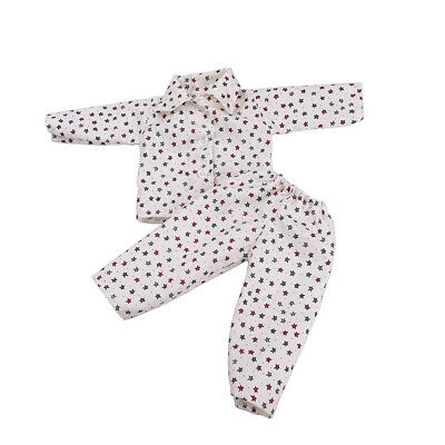 Pajamas PJS Nightgown Clothes for 18in.  Doll #A