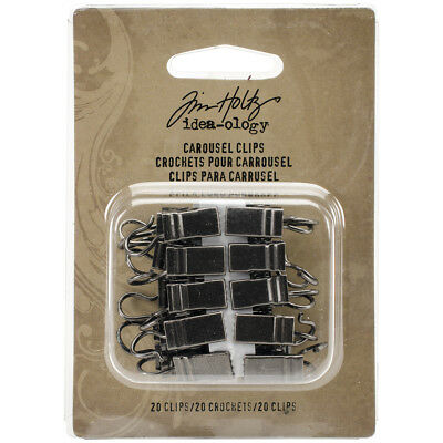 Idea Ology Metal Carousel Clips 20/Pkg For Use With TH93214 TH93218