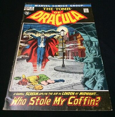 Tomb of Dracula #'s 2-9 (May 1972, Marvel) 2nd appearance, perfect shape (NM)!