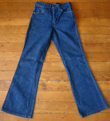 Vintage Wrangler Bootcut Bellbottom Flare Jeans Actual Meas W27 x L30