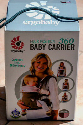 Brand new Ergobaby 360 Carrier 4 Position Ergo Baby TAUPE and LILAC.