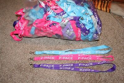 joblot of F-Pace lanyards in different colours all together more than 200