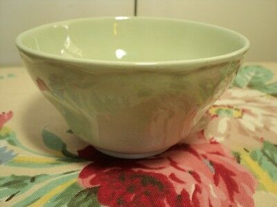 "GRINDLEY ENGLAND 5½"" high side bowl in 1930's style mint green"