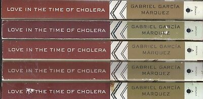 Love in the Time of Cholera X5 wholesale lot Gabriel Garcia Marquez textbook