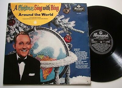 BING CROSBY: A Christmas Sing With Bing (Brunswick) 1957 LP