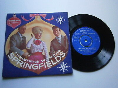 THE SPRINGFIELDS: Christmas With The Springfields (Woman's Own)  1962 EP