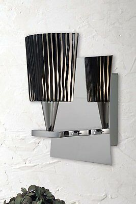 Holtkotter Lighting 5580/1 CH Ludwig Bath Wall Sconce
