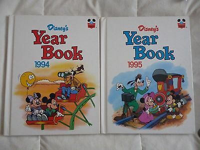2 X Disney's Year Book 1994 & 1995