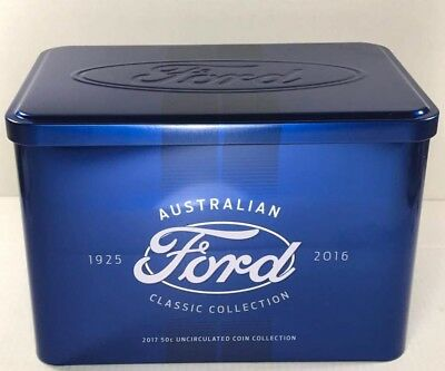 2017 complete Ford tin.