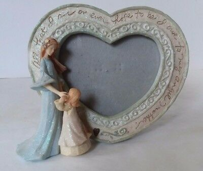 Ceramic Heart Shaped Picture Frame 099 Picclick