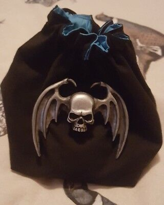 warhammer night lords dice bag + dice