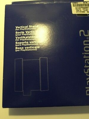 Sony Playstation 2 Original Ps2 Official Vertical Console Stand Complete In Box