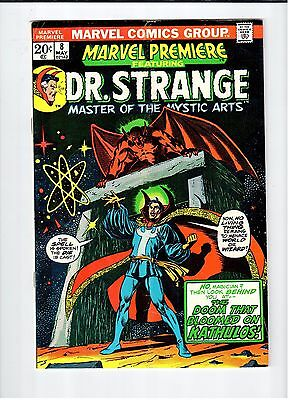 Marvel PREMIERE Featuring Dr. Strange #8 Starlin cover/art 1973 Vintage Comic