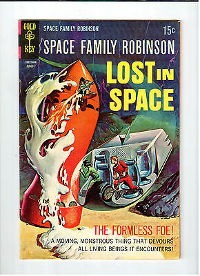 Gold Key SPACE FAMILY ROBINSON LOST IN SPACE #29 August 1968 vintage comic