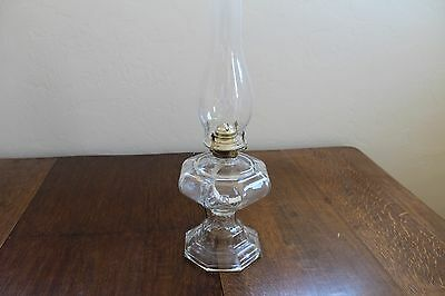 Glass Oil Lamp Circle K