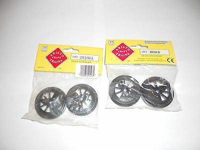Aristocraft Rogers Drive Wheel Set Front & Rear New