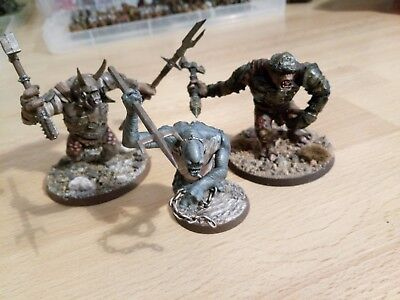 warhammer lord of the rings 3 trolls, 2 mordor, 1 cave