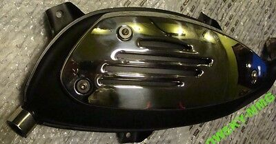 VESPA SILENCER EXHAUST GTS GT GTV 200cc 300cc without heat shield