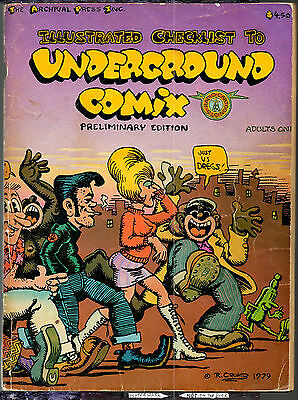 Illustrated Checklist to Underground Comix 1979