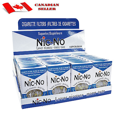Nic-Out Nic-No  Brand  Filter 36 Packs 15 Filters