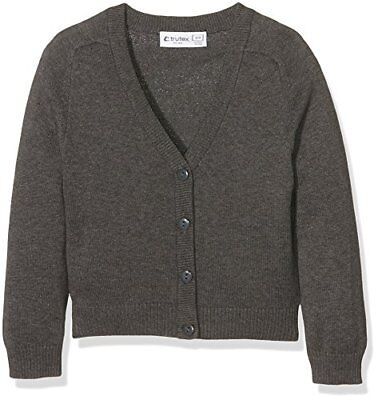 Trutex Limited - Suéter para niña, color gris (marl grey), talla 11 años (Talla