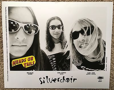 Silverchair 8X10 Press Photo 1995 Sony/epic # 9507 Original Rare