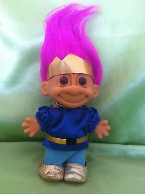 Troll Doll Vintage Russ Royal Prince Toy Collectable Gr8 Gift