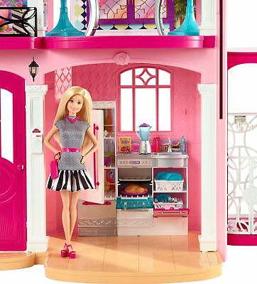 Barbie Hello Dreamhouse 3 Story with Furniture and Accessories Girl Gift Playset