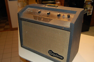 Vintage Epiphone Pacemaker EA-50T Combo Tube Amp 1964 Tremelo